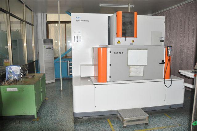 CNC线切割加工中心机